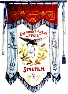 Bild 2: Vereinsfahne